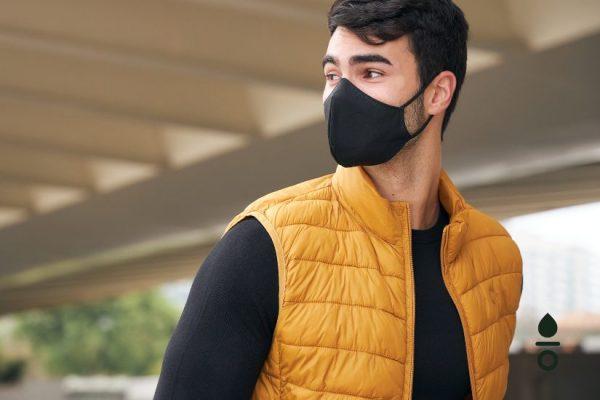 mascarillas de tela seguras para hombre